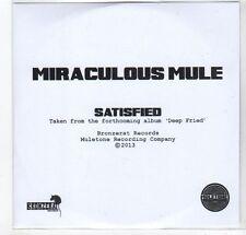 (GF111) Miraculous Mule, Satisfied - 2013 DJ CD