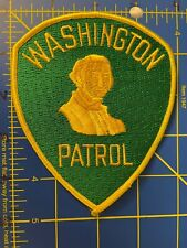 Vintage Washington Patrol Patch Highway WA HWY State Police Officer Patrolman DC