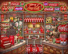 Springbok Coca Cola History 1000 Piece Jigsaw Puzzle