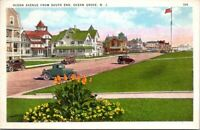 Postcard Post Card Ocean Ave South End Ocean Grove New Jersey Unposted