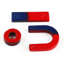 1x Magnets Field Teaching Education Tool Set Horseshoe Magnet Ring Toy