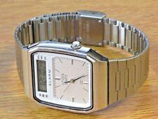 Citizen Vintage LCD Men's Quartz Wrist Watch-Rare Anolag Digital Model 4u2fix