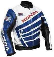 HONDA-REPSOL-HRC Motorcycle Leather Jacket Motorbike Racing,CE,ARMOUR(Replica)
