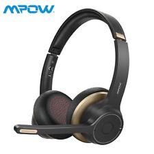 Mpow HC5 Bluetooth 5.0 Kopfhörer Kabellos Headset Stereo Headphone mit Mikrofon