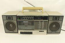 SONY CFS-3300, AM/FM stereo radio/cassette,boombox,serviced. (ref C 098)