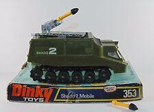 Dinky Toys 353 Shado 2 lanzacohetes misil móvil con caja
