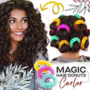 16PCS Magic Hair Donuts Curler Hairdress Magic Hair Styling Roller Curler