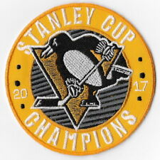 NHL Stanley Cup Champions 2017 Pittsburgh Penguins Iron on Patches Emblem Patch