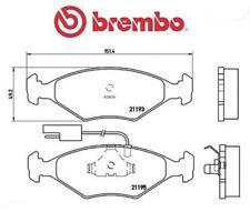 P23039 Kit pastiglie freno, Freno a disco (MARCA-BREMBO)