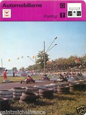 FICHE CARD: 1. Karting Kart racing RACE CAR 70s
