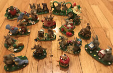 Charming Tails Figurines by Fitz and Floyd, Inc (16 Pc Lot) Perfect Condition!