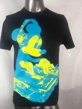 Disneyland Dj Mickey Mouse Graphic T-shirt Dj Music Black Disney Sz Small Nwt