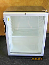 Summit Commercial Beverage Cooler Model Scr-600Bl used good working condition.