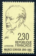 STAMP / TIMBRE FRANCE NEUF N° 2671 ** CELEBRITE / MAURICE GENEVOIX