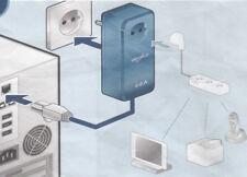 Devolo DLAN 85HSplus - Steckdose, Ethernet Kabel, 85 Mbit/s - blau