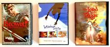 Adventure Fantasy 3 Dvds: Beowulf, Waking Life, The Lord of the Rings