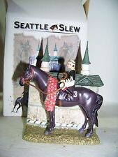 Seattle Slew Triple Crown Winner Miniature Decanter