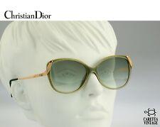 Christian Dior 2416 60, 80s Vintage oversized cat eye sunglasses - Nos