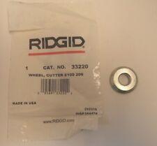 RIDGID E109 SOIL CUTTER WHEEL FOR #206 SOIL PIPE CUTTER, P/N 33220/E109 206