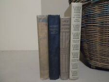 Vintage Books Home Decor/Staging Lot Of 4
