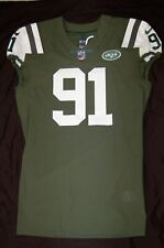 Kendall Reyes #91 New York Jets Game Issued Jersey !! 2017 NFL Auction! Chargers