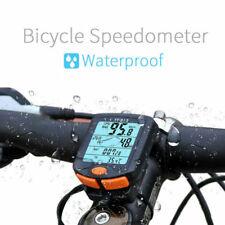 Sans Fil Vélo Cycle Speed Indicateur Odomètre Compteur de vitesse Etanche FCOP