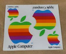 Vintage Apple Computer Rainbow Logo Stickers