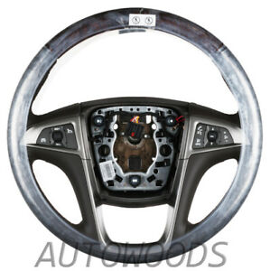GM Buick LACROSSE STEERING WHEEL - Cocoa  - (Buick Regal)  NEW 2010 - 2013