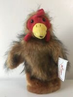 Chicken Hen Animal Puppet - Long Sleeve Puppet - The Puppet Company New With Tag
