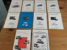 Lledo Collectors Club of Australia, The Australian Model, 10 magazine issues
