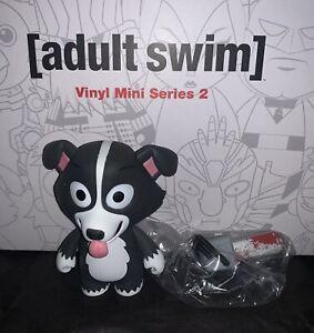 Kidrobot Adult Swim Series 2 Blind Box Mini Figure: MR. PICKLES w/ Chainsaw