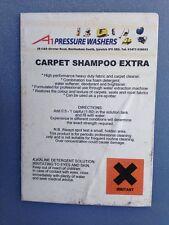 5LT Carpet Shampoo extra soluzione detergente, pulisce TAPPETI SEDILI IN TESSUTO