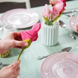 Shop-Story - Flower Napkin: Batch 4 Towel Designers Flower
