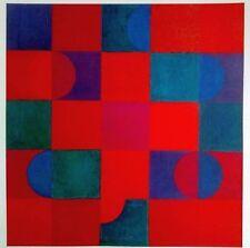 Johannes Itten Lithograph Galerie Thomas Zweiklang 1964