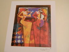 "CHARLES LEE ""Duet Night"" Seriolithograph Park West Gallery -Signed- COA - Music"