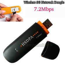 HSDPA USB Modem 7.2Mbps TF card Adapter STICK SIM SD Wireless 3G Network Dongle