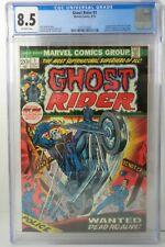 GHOST RIDER  #1 1973 CGC 8.5 1st APPEARANCE HELLSTORM SON OF SATAN 7003 U.S.