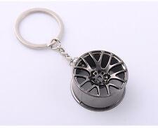 Auto Car Wheel Rim Creative Keyring Key Chain Ring car Keyfob Holder Keychain
