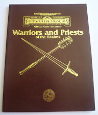 Warriors and Priests of the Realms - Forgotten realms / Royaumes Oubliés (VO)