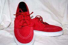 Nike Stephan Janoski Red Suede Skateboarding Shoes Sz 14