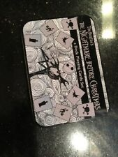 TIM BURTON'S NIGHTMARE BEFORE CHRISTMAS 2 DECK PLAYING CARDS TIN BOX NEW Neca