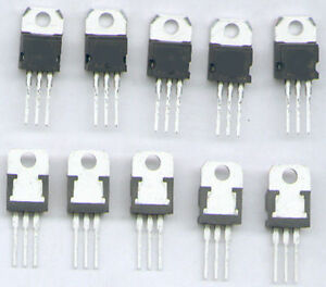 7806 Spannungsregler Festspannungsregler 6V 1A 2 Stück 0033