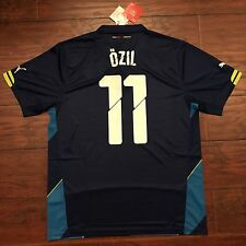 2014/15 Arsenal Third Jersey Puma Large #11 Mesut Ozil Champions League BNWT