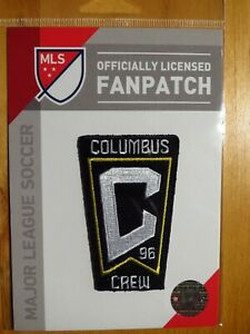 Official Embroidered MLS Soccer Columbus Crew SC Logo Iron or Sew On Patch