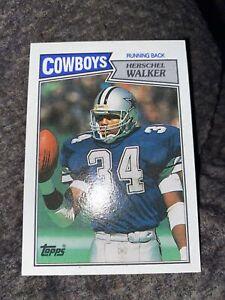 Herschel Walker 1987 Topps #264 Dallas Cowboys RC Rookie