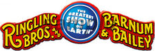 HO O 1/87 1/43 SCALE RINGLING BROS CIRCUS BANNER BUILDING SIGN DECALS 3X1