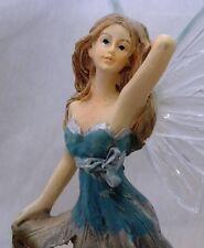 Standing Fairy Statuette Decorative Ornament Figurine Garden Decoration Feature