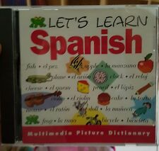 Let's Learn spanish PC GAME - FREE POST