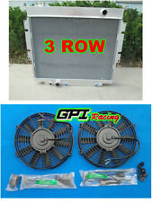 3ROW aluminum radiator +FAN For 1983-1994 Ford F-250/350 Pickups 6.9/7.3 V8