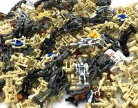 LEGO LOT OF 10 STAR WARS DROID MINIFIGURES GRAB BAG RANDOM PICK SUPERBATTLE FIGS